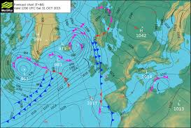 surface pressure charts spooky heat for halloween weekend official blog of the met office
