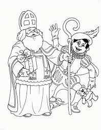 25 Printen Kleurplaten Sinterklaas En Zwarte Piet Printen Mandala