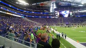Minnesota Vikings Seating Guide U S Bank Stadium