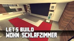 Minecraft Möbel Tutorial Modernes Wohn Schlafzimmer Haus Nr