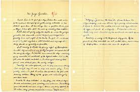 some states move to save cursive in the classroom portland press  this image provided by the ronald reagan presidential library shows a two page essay written
