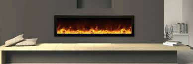 linear electric fireplaces bi deep wide x deep full frame viewing electric fireplace indoor or outdoor