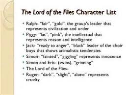 lord of the flies dynamic character essay  lord of the flies dynamic character essay