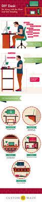 standing desk infographic. Modren Desk And Standing Desk Infographic A