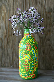 glass vase painting ideas