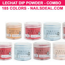 Lechat Perfect Match Dip Powder Combo 185 Colors