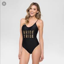 Bride Tribe Swimsuit Nwt