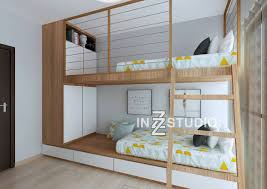 Bunk beds are great ways to add more space to a room, especially ...