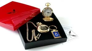 pocket watch gift set for police officer