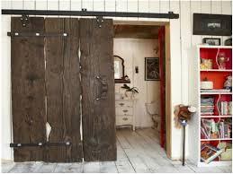 rustic interior sliding barn doors
