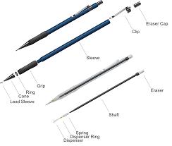 Graphite Lead Chart Mechanical Pencil Wikipedia
