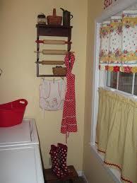 Nice Cute Laundry Room Curtains Curtains