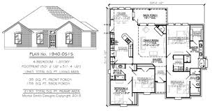 1 story house plans. 4 Bedroom - 1 Story House Plans R