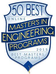 50 Best Online Master's in Engineering Programs ...