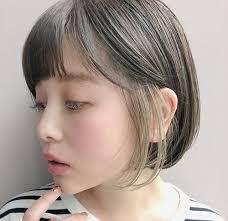 korean hairstyle bangs