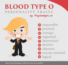 Blood Type Personality Traits In Asia Psychologia