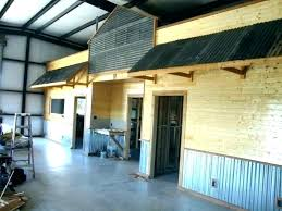 interior corrugated metal wall panels garage