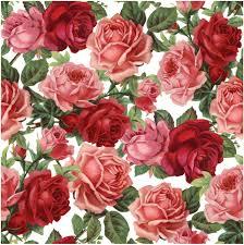 Vintage Floral Print Vintage Flower Print Google U Decoupage Pinterest