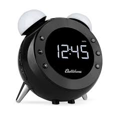 main electrohome retro alarm clock radio cr35