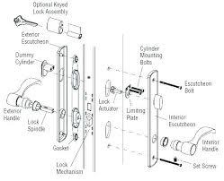 Schlage Lock Parts Door Knob Latch Assembly Door Knobs Parts Door
