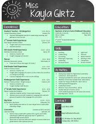 Resume Template For Teachers Resume Templates Teachers Best Resume And CV Inspiration 22