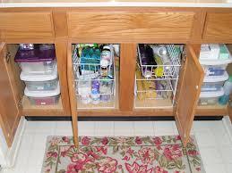 accessories under sink kitchen organizer bathroom