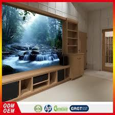 Nieuwe Grote Custom Bos Wallpaper Muurschildering Sofa Achtergrond