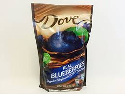 Dove REAL <b>Blueberries Dipped in</b> Silky Sm- Buy Online in ...