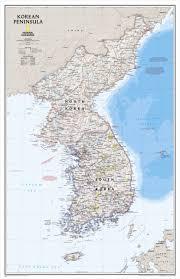 Korean Peninsula Classic - National Geographic - Avenza Maps