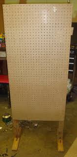 Pegboard Display Stands Uk Speed Bump DIY Freestanding Display For Craft Shows 9