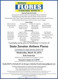 political fundraiser invite looking for something to do in miami how about a political