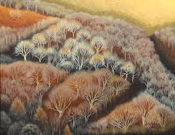 Fall Tapestry Painting by Adrienne Dye
