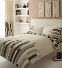 Blocks Printed Duvet Quilt Cover Bedding Set | Cream-Brown ... & blocks cream brown quilt cover Adamdwight.com