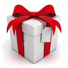 Gift box with bow Cartoon Gift Box With Red Ribbon Bow With Blank Tag Isolated On White Background Stock Photo 123rfcom Gift Box With Red Ribbon Bow With Blank Tag Isolated On White