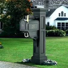 stone mailbox designs. Mailbox Protector Double Post Designs For Sale Liberty Stone Protection