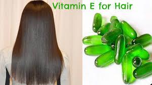 hair care with vitamin e oil