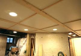 fabric ceiling basement bead board in the swag diy unfinished ideas ceilin