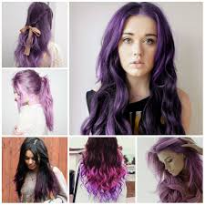 Purple Hair Style super trendy purple hair colors 2016 female haircuts and 5978 by wearticles.com