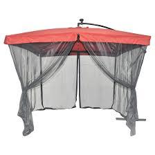 uberhaus patio umbrella with netting