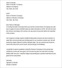 Sample employee contract termination letter. 19 Termination Letter Samples Writing Letters Formats Examples