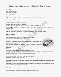 Maintenance Mechanic Resume Sample Aircraft Maintenance Technician Resume Beautiful Resume Samples
