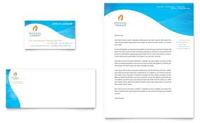 Free Business Card Templates For Word 2007 Physical Therapist
