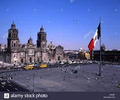 Mexiko, Mexico DF, Mexiko-Stadt Zocalo Stockfotografie - Alamy