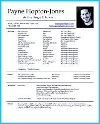 Download Child Actor Resume Format Haadyaooverbayresort Com