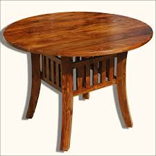mission style round dining room table dining room decor ideas and