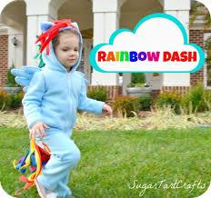 my little pony rainbow dash costume