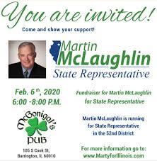 Marty McLaughlin Sets Barrington Fundraiser for February 6th   The  Barrington Hills Observer