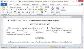 A lease agreement, also called a rental agreement, is a legal contract made between someone who owns and/or manages a property such as an apartment. Free Residential Lease Template For Word