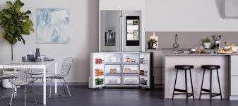 samsung fridge freezer. samsung fridges - modern kitchen with family hub multi-door fridge freezer e