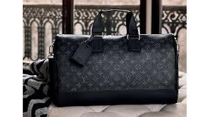 louis vuitton luggage men. autumn-winter 2016 men\u0027s collection: monogram eclipse - louis vuitton fashion news luggage men a